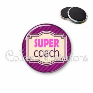 Magnet 56mm Super coach (004VIO02)