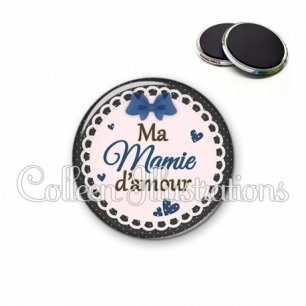 Magnet 56mm Mamie d'amour (005BLE07)