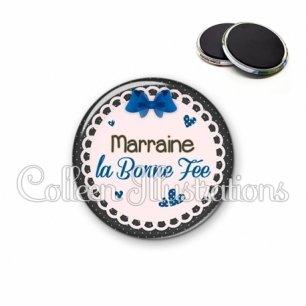 Magnet 56mm Marraine ma bonne fée (005BLE07)