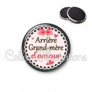 Magnet 56mm Arrière grand-mère d'amour (005ROS01)