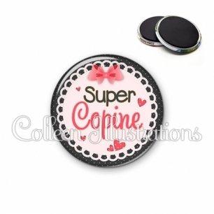 Magnet 56mm Super copine (005ROS01)