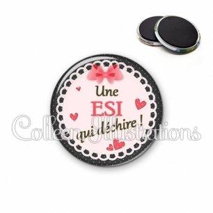 Magnet 56mm ESI qui déchire (005ROS01)