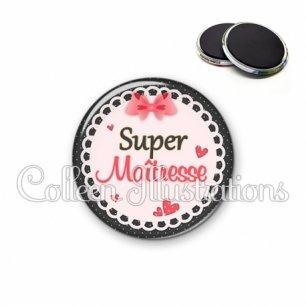 Magnet 56mm Super maîtresse (005ROS01)