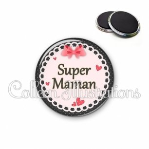 Magnet 56mm Super maman (005ROS01)