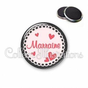 Magnet 56mm Marraine (005ROS01)