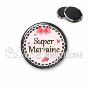 Magnet 56mm Super marraine (005ROS01)