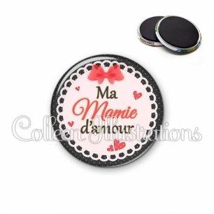 Magnet 56mm Mamie d'amour (005ROU05)