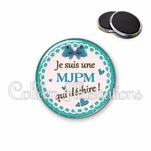 Magnet 56mm MJPM qui déchire (005VER04)