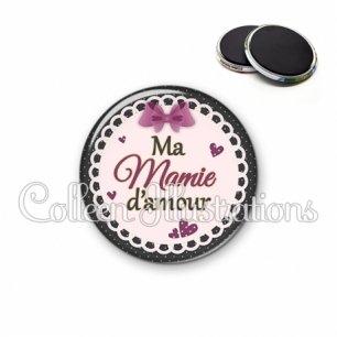 Magnet 56mm Mamie d'amour (005VIO01)