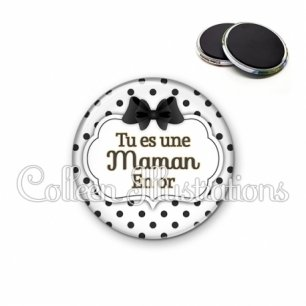 Magnet 56mm Maman en or (006BLA01)