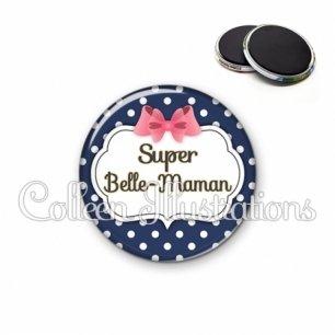 Magnet 56mm Super belle-maman (006BLE06)