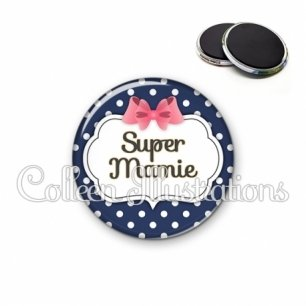 Magnet 56mm Super mamie (006BLE06)