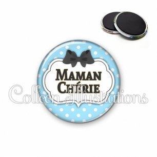 Magnet 56mm Maman chérie (006BLE08)
