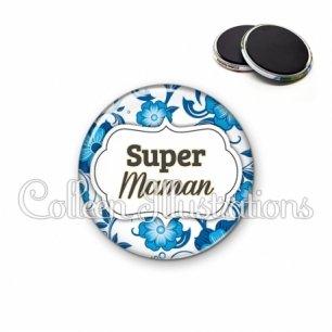 Magnet 56mm Super maman (006BLE11)