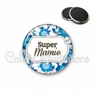 Magnet 56mm Super mamie (006BLE11)