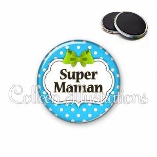 Magnet 56mm Super maman (006BLE20)