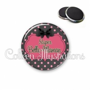 Magnet 56mm Super belle-maman (006GRI01)