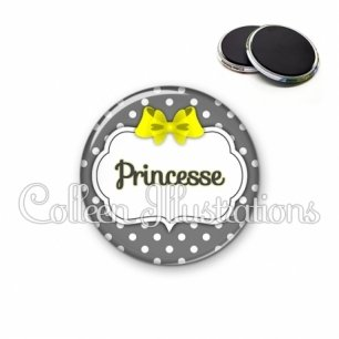 Magnet 56mm Princesse (006GRI05)