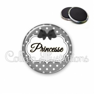 Magnet 56mm Princesse (006GRI09)