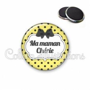 Magnet 56mm Maman chérie (006JAU01)