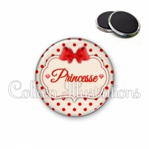 Magnet 56mm Princesse (006MAR03)