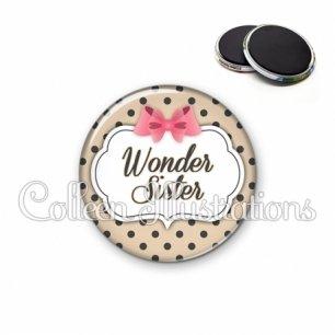 Magnet 56mm Wonder sister (006MAR04)