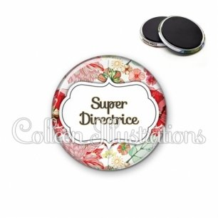 Magnet 56mm Super directrice (006MUL03)