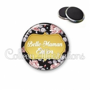 Magnet 56mm Belle-maman en or (006MUL12)