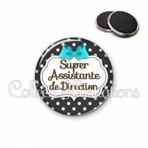 Magnet 56mm Super assistante de direction (006NOI03)