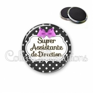 Magnet 56mm Super assistante de direction (006NOI09)