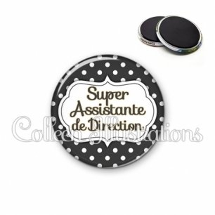 Magnet 56mm Super assistante de direction (006NOI11)