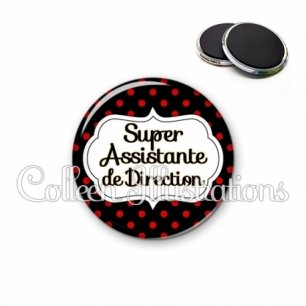 Magnet 56mm Super assistante de direction (006NOI12)