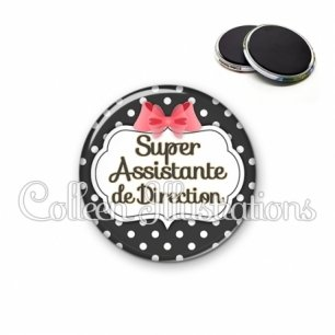 Magnet 56mm Super assistante de direction (006NOI13)