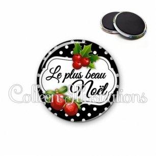 Magnet 56mm Le plus beau Noël (006NOI15)