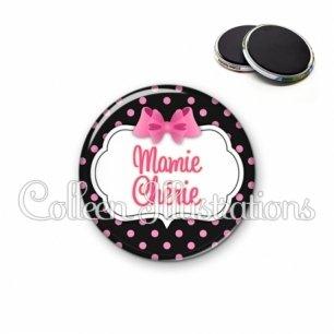 Magnet 56mm Mamie chérie (006NOI21)