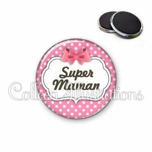 Magnet 56mm Super maman (006ROS02)