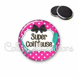 Magnet 56mm Super coiffeuse (006ROS04)