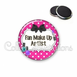 Magnet 56mm Fan make up artist (006ROS04)