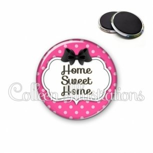 Magnet 56mm Home sweet home (006ROS06)