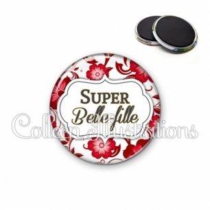 Magnet 56mm Super belle-fille (006ROU01)