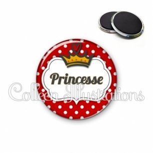 Magnet 56mm Princesse (006ROU09)