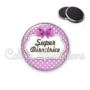 Magnet 56mm Super directrice (006VIO01)