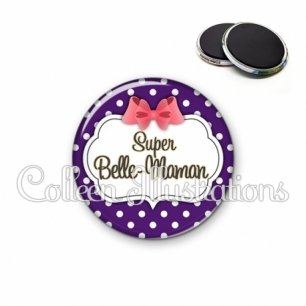Magnet 56mm Super belle-maman (006VIO09)