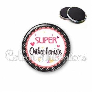 Magnet 56mm Super orthophoniste (007NOI01)