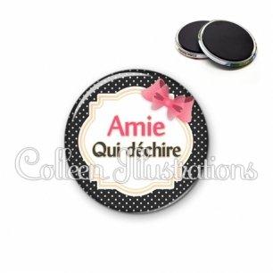 Magnet 56mm Amie qui déchire (008NOI01)