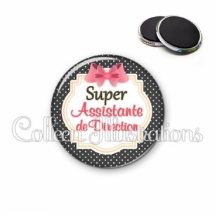 Magnet 56mm Super assistante de direction (008NOI02)