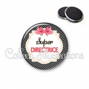 Magnet 56mm Super directrice (008NOI02)