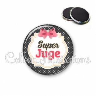 Magnet 56mm Super juge (008NOI02)