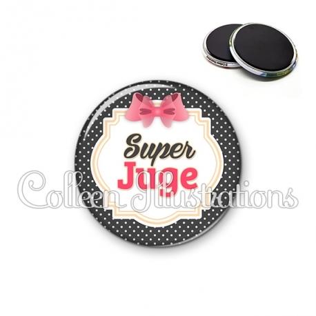 Magnet 56mm Super juge (008NOI02)