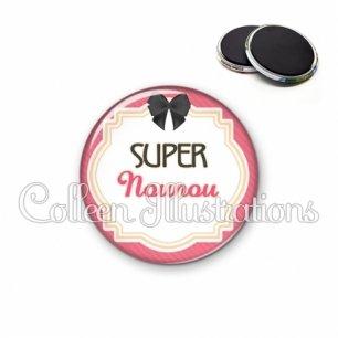 Magnet 56mm Super nounou (008ROS01)